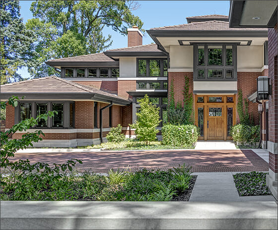 Crafted Prairie Estate, Featured Image, View of front exterior