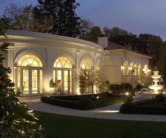 Palladian Inspired Natatorium, Featured Image, View of exterior