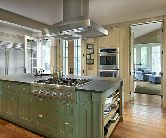 Farmhouse Restoration, Featured Image, View of kitchen